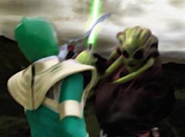 Green Ranger vs Kit Fisto