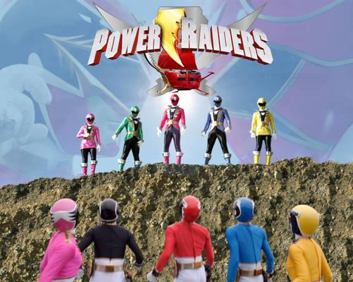 Power Raiders poster
