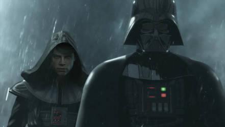 Darth Vader with Darth Zhoun