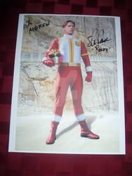 My Rocky autograph