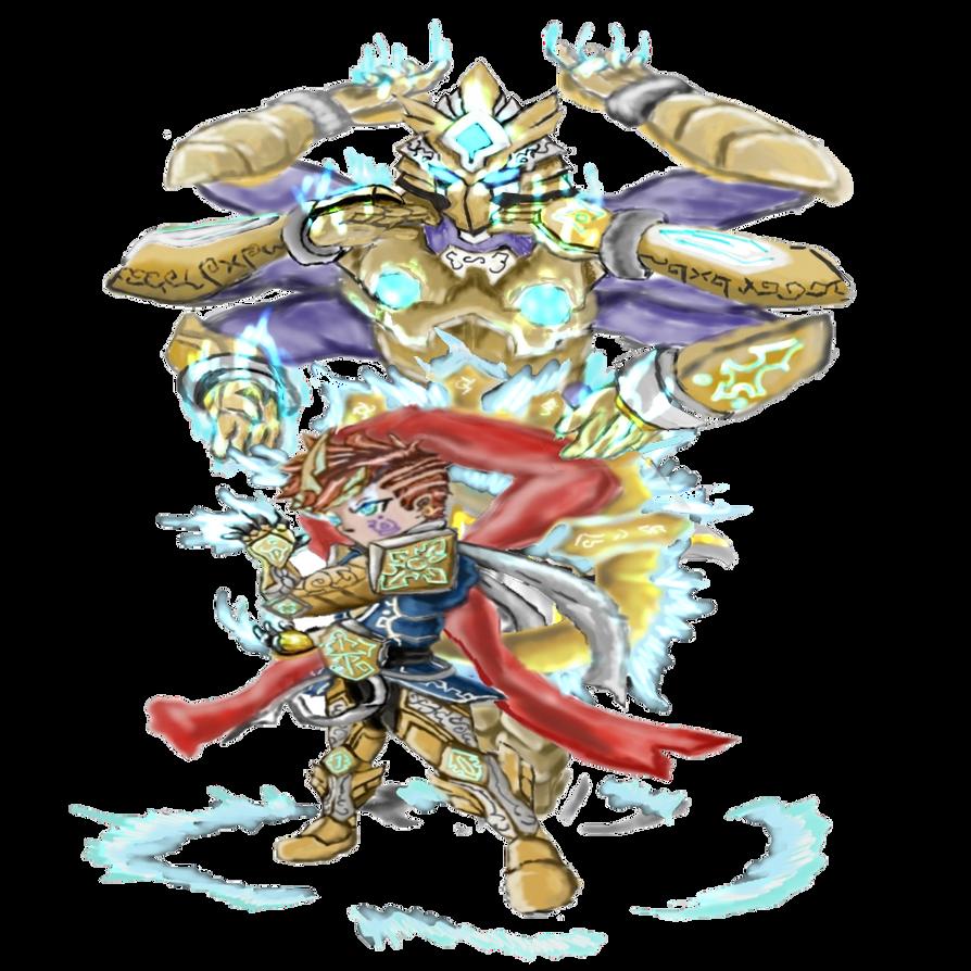 Brave Frontier Character Design Contest : Brave frontier fan art contest by mengohero on deviantart