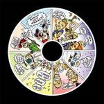 Show Off Freaks CD-Label