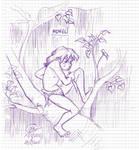 Mowgli by Kaudallator
