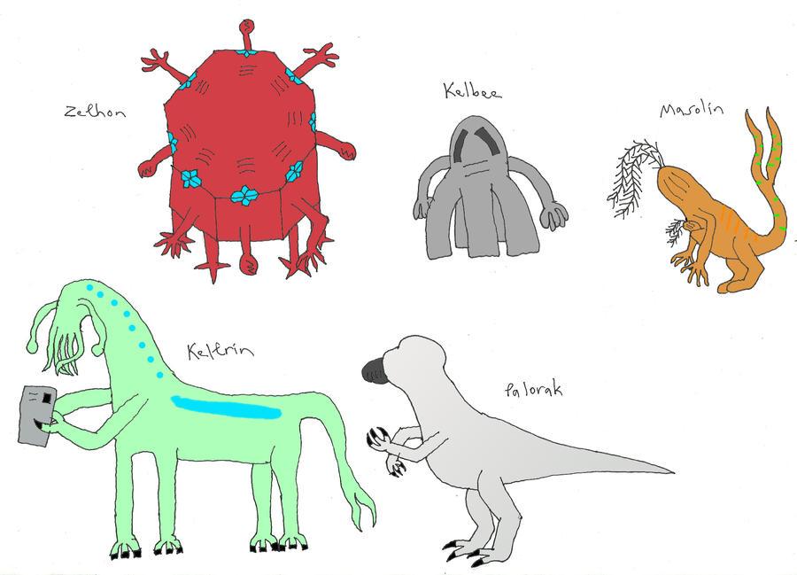 Culture Shock Concept Art Alien Races By Tarturus On Deviantart