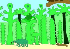 Insulaean island forest