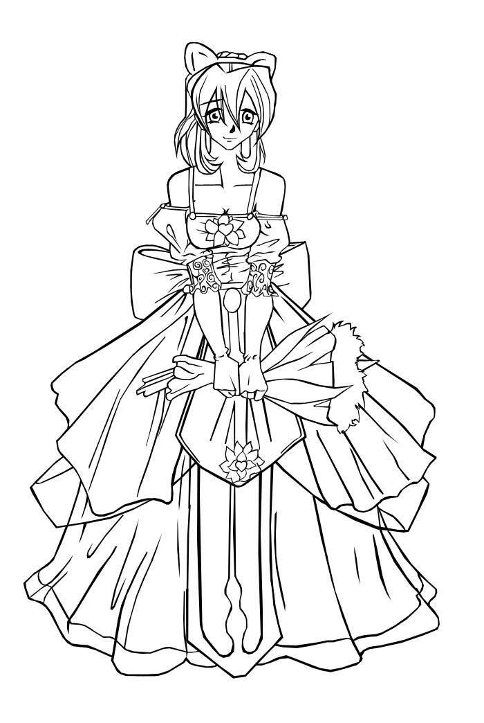 Nikol's wedding dress by Vincenttmw