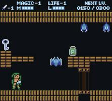 Zelda 2 - Gameboy Colour Mockup