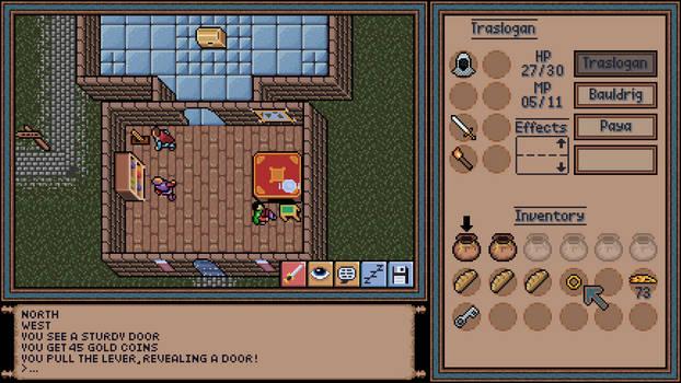 Ultima / 90s RPG Mockup