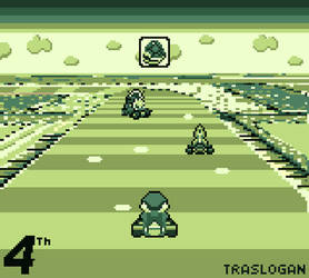 Super MarioKart Gameboy Mockup