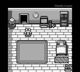 Pokemon Starter Bedroom (Gameboy Style)