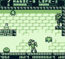 Zelda 2 Gameboy Mockup