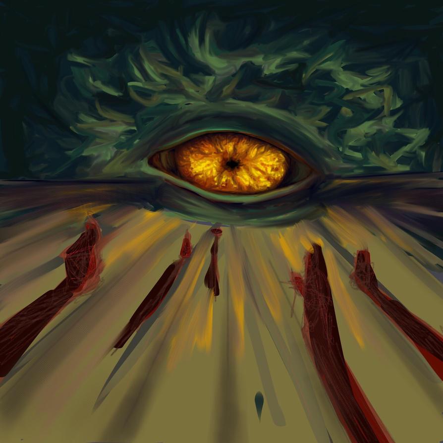 Eye eye captain  by everydie