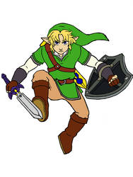 Skyward Sword Link by TheHypersonic55