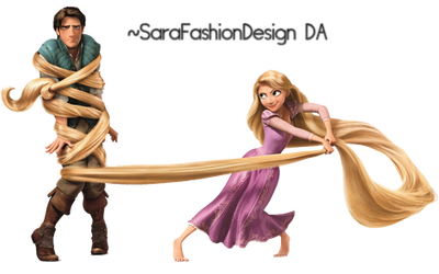 Tangled HQ png by SaraFashionDesign