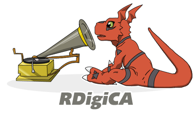 Digimon RCA Series by gabumon3k
