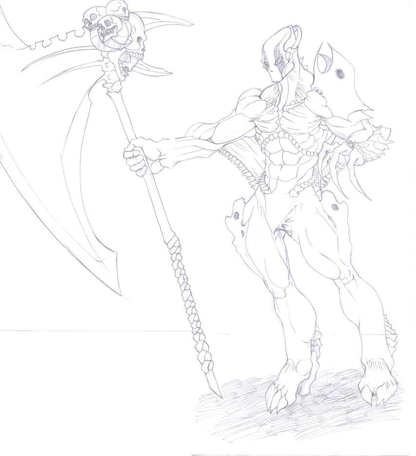The Knight of Malice (WIP) by RaizaBlackbone