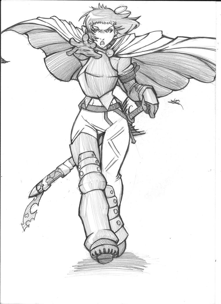 The Hero by MrFuzzy332