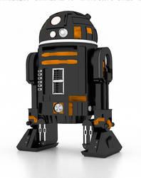 R2D2 Fun practic render