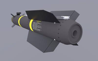 AGM-114 Helfire Tail Practic render