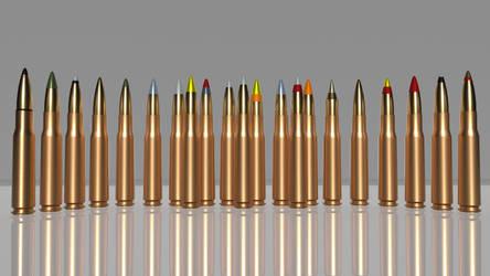 Ammunition 0.50x99mm