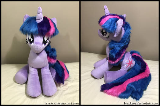 34 inch Twilight Sparkle plush