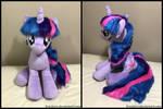 34 inch Twilight Sparkle plush by brackens