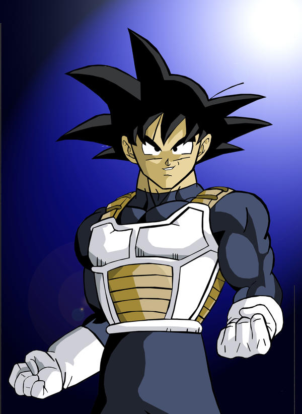 Lets Make A Brawler/Fighting Game Roster! Goku_with_saiyan_armor_by_kingvegito