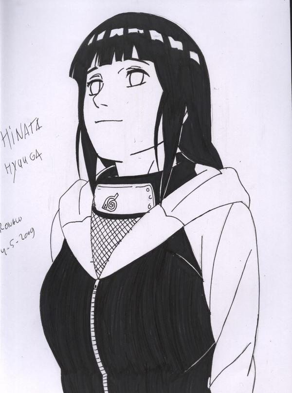 Hinata Shippuuden Manga by kingvegito on DeviantArt
