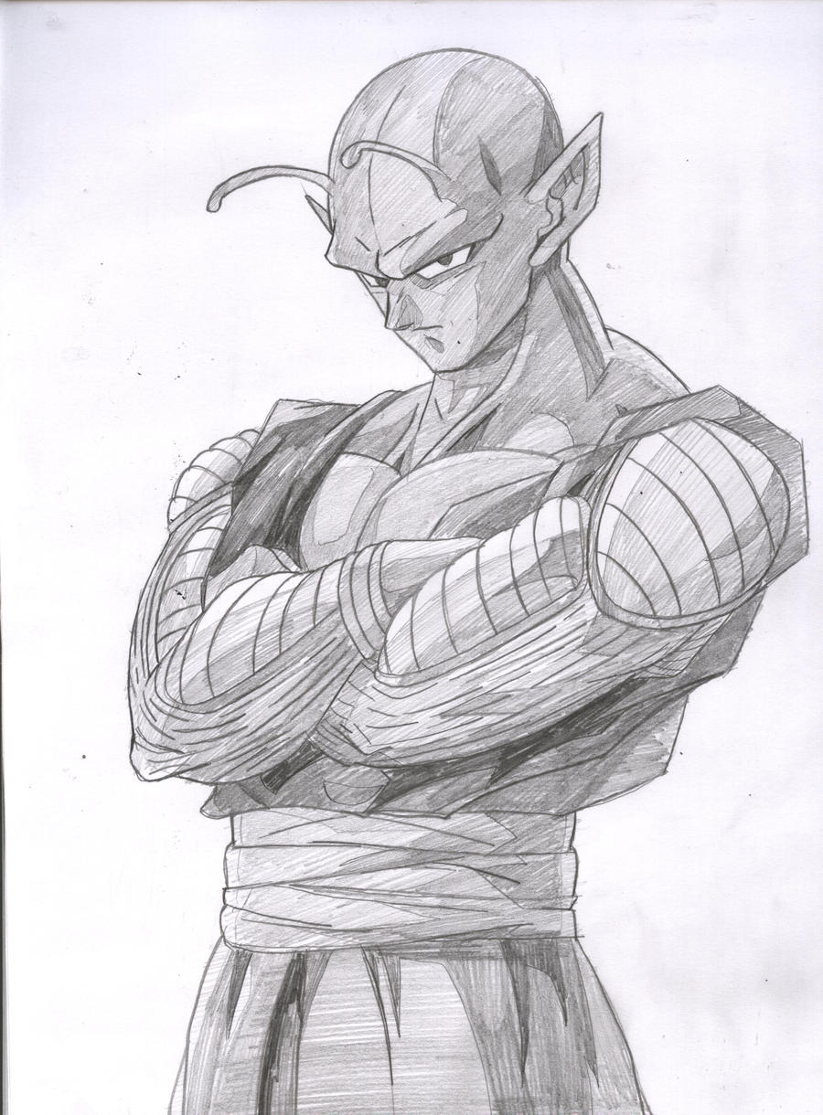 Piccolo.... by kingvegito on DeviantArt