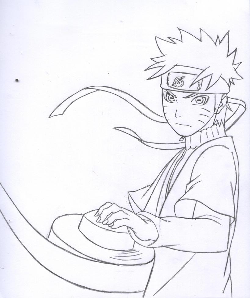 Drawn Naruto Naruto Sage Mode – Samyysandra