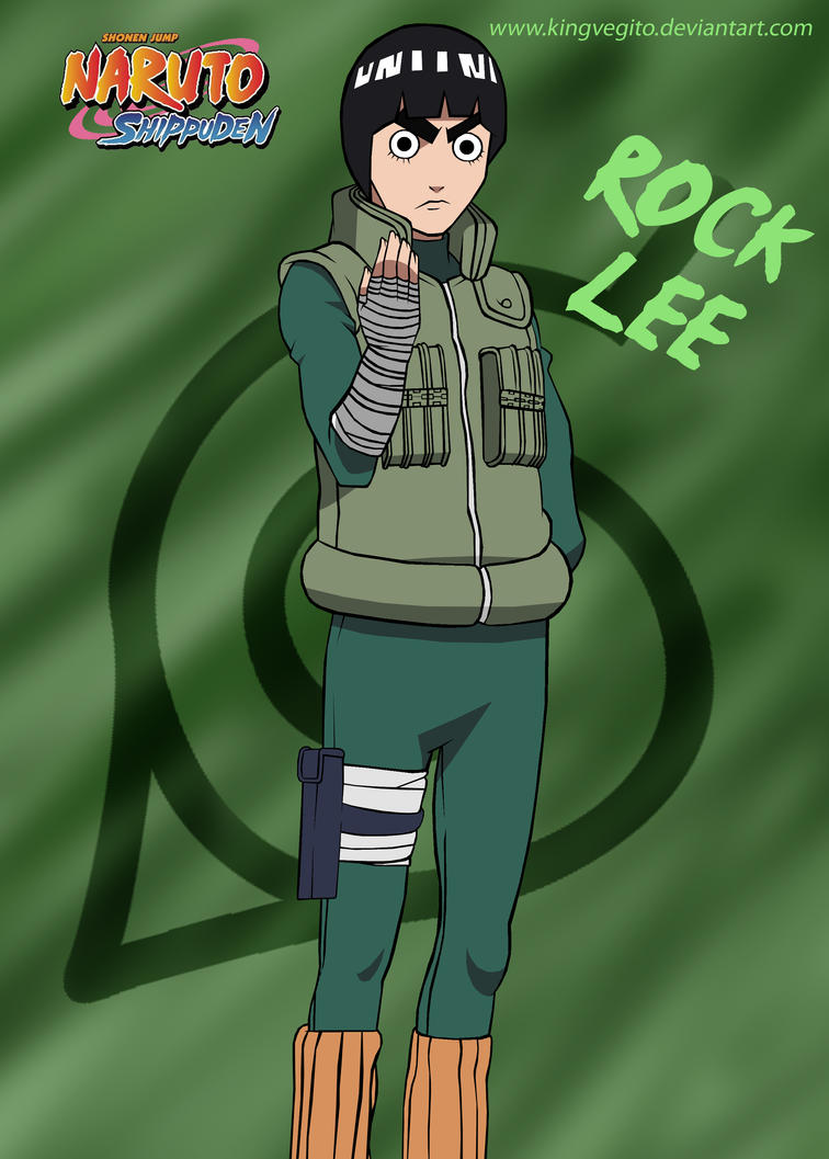 Beautiful Wallpaper Naruto Rock Lee - rock_lee_shippuden_finished_by_kingvegito-d2ya0nv  You Should Have_604516.jpg