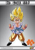 Goku SSJ GT Finished by kingvegito