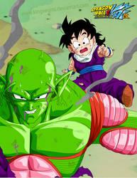 Piccolo's Sacrifice by kingvegito