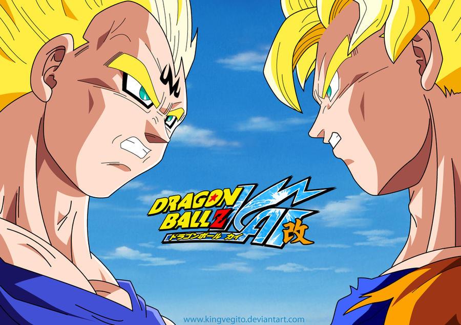 Majin Vegeta Vs Goku Finished By Kingvegito