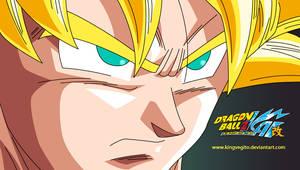 Goku SSJ OVA by kingvegito