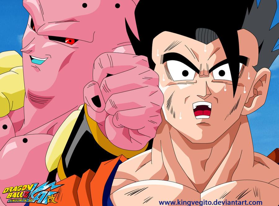 Dragon Ball Z images ssj3 vegito vs super buu wallpaper