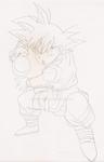 Goku Gt Rough Sketch