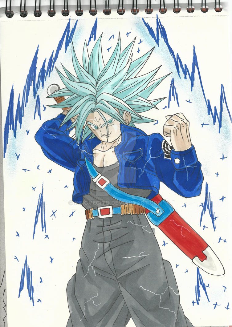 Future Trunks Ssj Blue by kingvegito