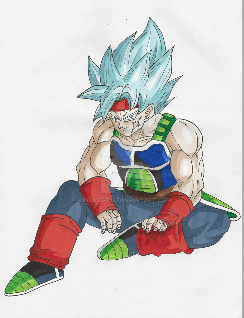 Bardock Ssj Blue by kingvegito