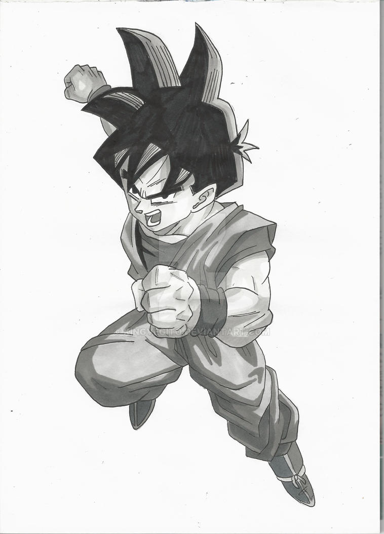 Gohan Grey Tints by kingvegito