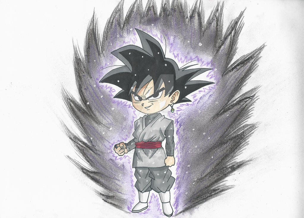 Goku Black Chibi by kingvegito