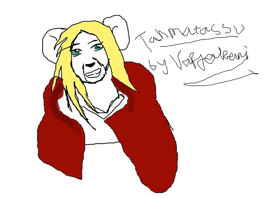 Tahmatassu as a mouse by Varjokani