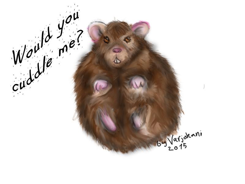 Ham ham ham hamster by Varjokani