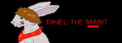 Daniel the rabbit by Varjokani