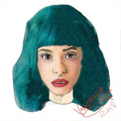 Melanie sketch by Varjokani
