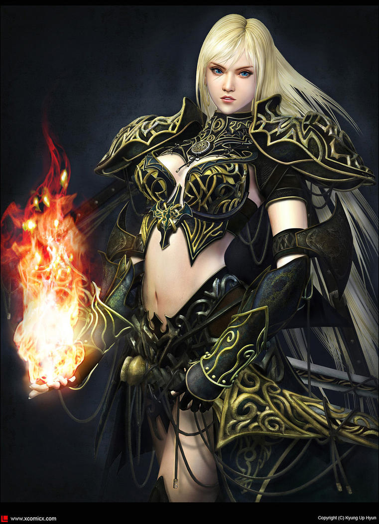 You have erotic woman warrior fantasy art for
