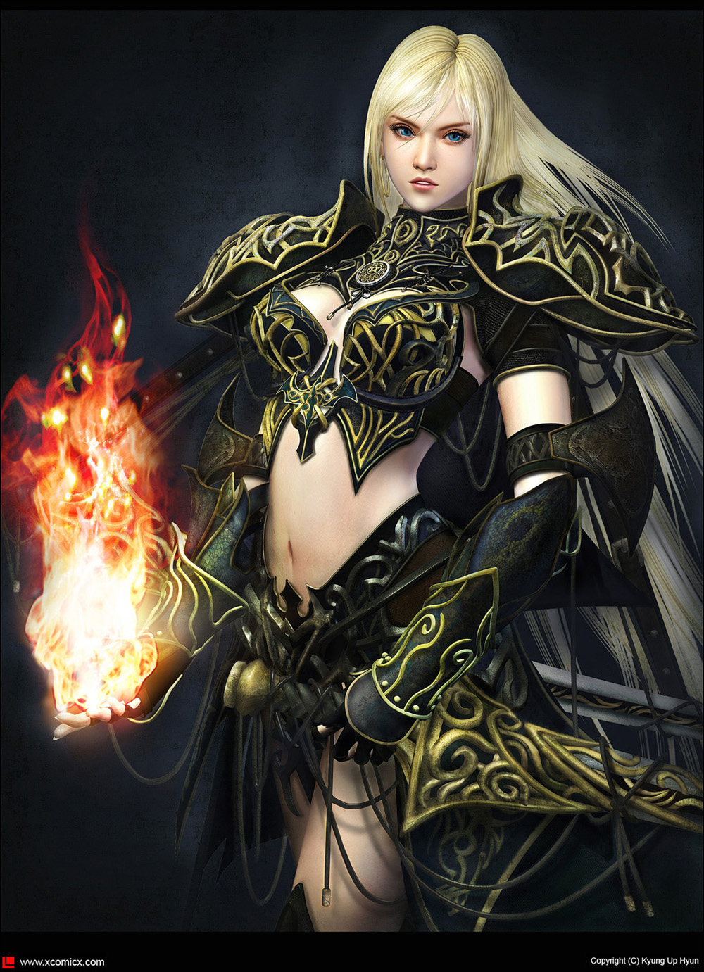 Gothic warrior women nude tube