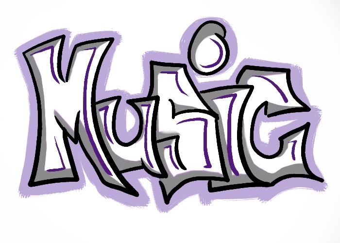 Xoloitzcuintli Fc Music Graffiti by Samm...