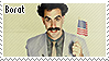 Borat stamp by kalmisto