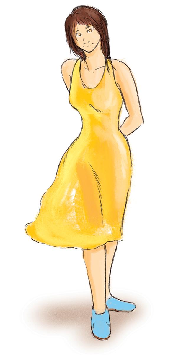 Summertime Sketch by harrison2142